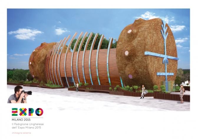 L'Ungheria partecipa ad Expo con una moderna arca di Noé