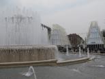 Expo Gate - vista dalla fontana di Piazza Castello