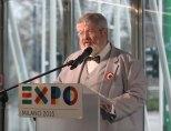 Géza Szőcs, Commissario Generale d'Ungheria per Expo Milano 2015