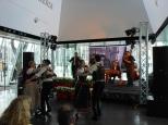 Concerto del gruppo musicale Hungarian FolkEmbassy, con i danzatori del gruppo folcloristico Hungarian State Folk Ensemble