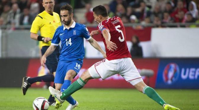 Qualificazioni Europei di calcio 2016: pari senza reti tra Ungheria e Grecia