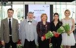 Da sinistra: Stefano Acbano, Géza Szőcs, Edit Székely, Zsófia Kesztyűs, Andrea Osvárt