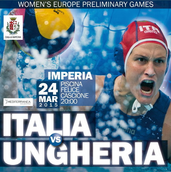 Pallanuoto femminile World League: tutto pronto ad Imperia per ospitare l'importante match del Setterosa contro l'Ungheria