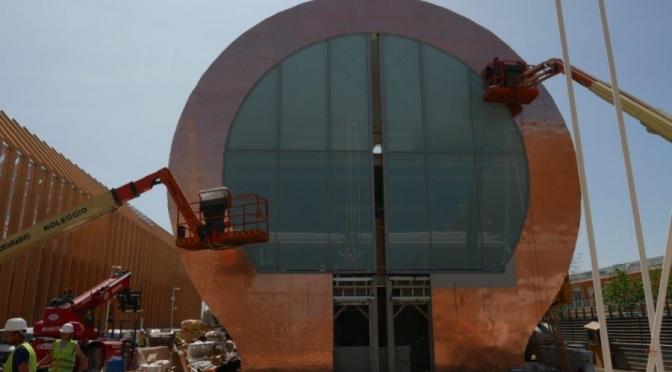 Expo 2015: Il completamento del Padiglione Ungherese è vicino al traguardo