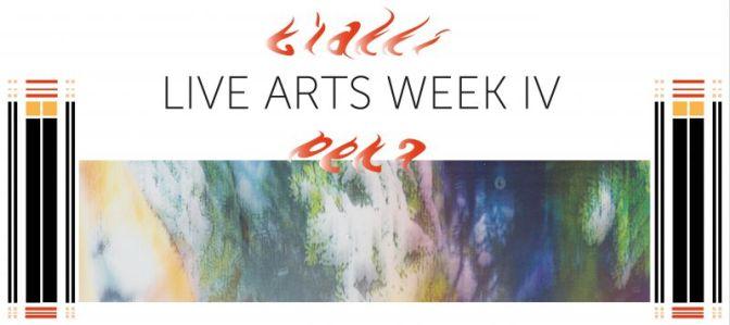 """""""Live Arts Week"""": A Bologna il Festival Internazionale delle Arti Performative. In cartellone anche l'ungherese Gábor Lázár"""