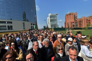 """Inaugurazione di """"Wheatfield"""" – Sabato 11 aprile 2015"""
