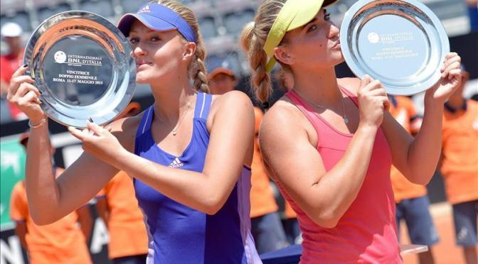Tennis Internazionali BNL d'Italia: La coppia ungherese-francese Babos vince il torneo di doppio femminile a Roma