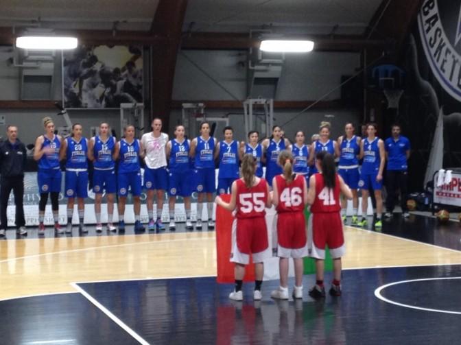 EuroBasket Women 2015: Le Azzurre si rascattano in amichevole a Roma contro l'Ungheria