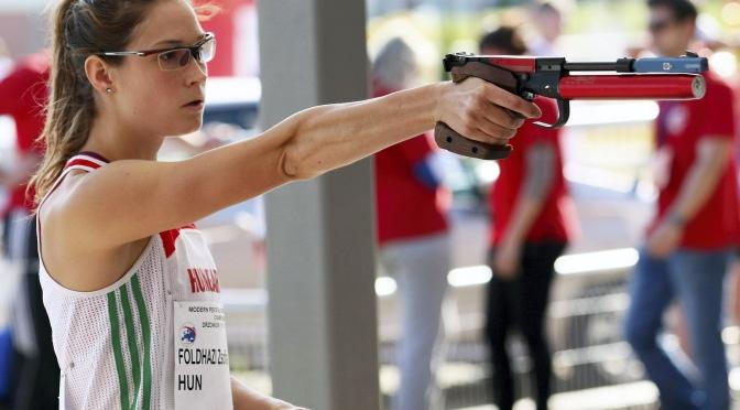 Pentathlon, Coppa del Mondo: Vince l'ungherese Zsófia Földházi. Settima l'azzurra Alice Sotero