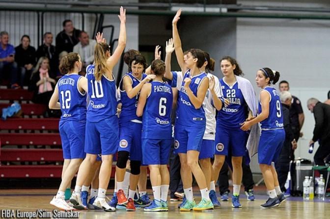 EuroBasket Women 2015: Oggi a Roma le Azzurre contro l'Ungheria