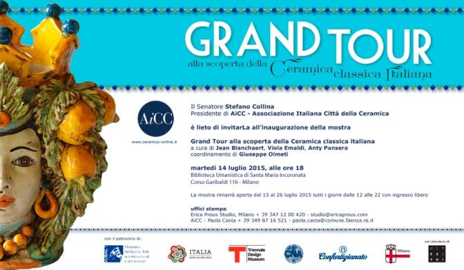 """""""Grand Tour"""" a Milano: Anche l'Ungheria presenta un proprio pezzo di ceramica artistica alla mostra organizzata da AiCC"""