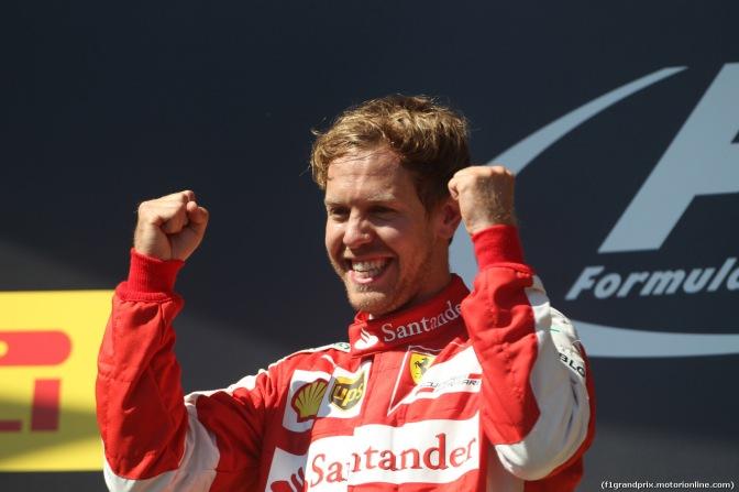 Mondiale Formula 1 2015: La Ferrari di Sebastian Vettel trionfa al Gran Premio d'Ungheria